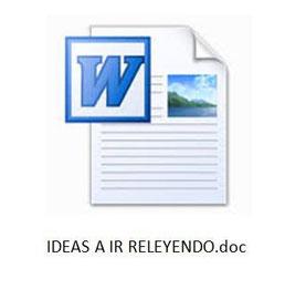 Anota todas tus ideas que te servirán en el futuro - www.AorganiZarte.com