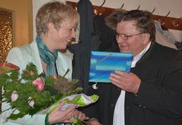 Ludwig Danner dankte Gudrun Donaubauer für einen interessanten und kurzweiligen Vortrag