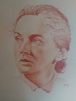 Malerin Ima Ebert (geb. Bierhals) aus Nürnberg