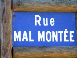 Rue Mal Montée à Naours- Ph: Christiane Sellez