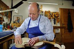 Geigenbaumeister Ralf Schumann