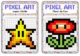 Atelier Libre Pixel Art Fiches De Preparations Cycle1 Cycle 2 Ulis