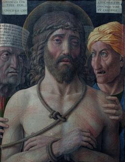 Andrea  Mantegna, Ecce  Homo,  1500  ca. Paris,  Musée  Jacquemart-André  –Institut  de  France  ©  Studio  Sébert  Photographes