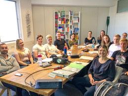 Unsere neuen Fitness- und Präventionsmanagement-Studenten sind da! Willkommen am Bodensee Campus in Konstanz!