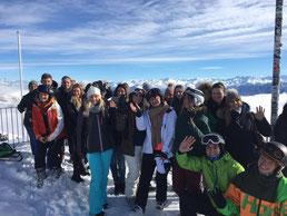 Tourismusstudium einmal anders: Exkursion mit den Studenten nach Laax