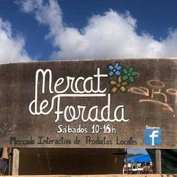 Mercat de Forada zwischen Sant Rafel und Santa Agnès