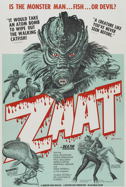Zaat de Don Barton & Arnold Stevens - 1971 / Science-Fiction - Horreur