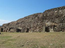 El túmulo de Barnenez en Bretaña (Francia). Foto: © NewPapillon