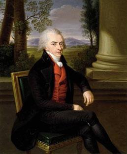 Graf Alexej Kirillowitsch von Rasumowski (1748-1822). Gemälde von Ludwig Guttenbrunn 1801