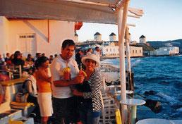 Pôr-do-Sol na Pequena Veneza de Mykonos