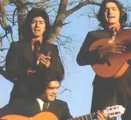 LOS CHICHOS EN SUS COMIENZOS  - 1974