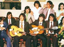 LOS CHICHOS EN UNA FIESTA 1974