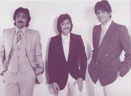 Foto Postal promocional para firmas (Archivo PHILIPS -(Otra tirada) - Déjame solo - 1983 - disco dedicado a su Mánager   Eduardo Guervós