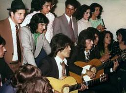 MISMA ACTUACIÓN DE LOS CHICHOS 1974