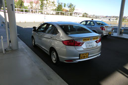 神奈川県運転免許センター試験車両