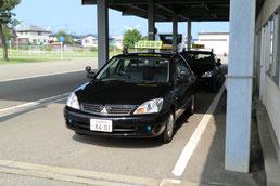 秋田県運転免許センター試験車両