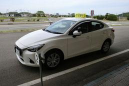 和歌山県自動車運転免許第1試験場(岡崎交通センター)試験車両