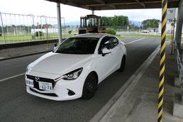 滋賀県運転免許センター試験車両