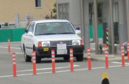 徳島県運転免許センター試験車両