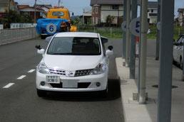 鳥取県中部運転免許センター試験車両