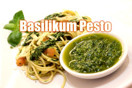 Basilikum Pesto Rezept selber machen Klassisch italienisch