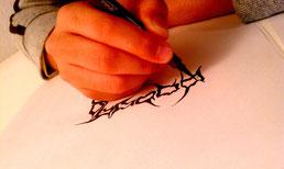 筆の使い方が物凄い勢いで成長しております★