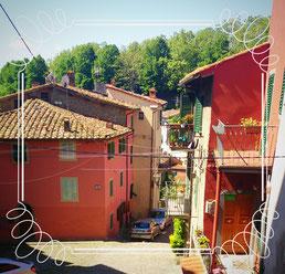 Italien, Toskana, Urlaub, Radreisen, Velotraum, Radfahren, bunt, Sonne, sonnig