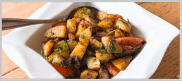 Zum Rezept Würzige Bombaykartoffeln
