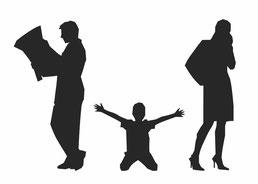 Separazione divorzio figli adattamento