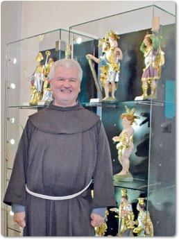 Abschied von den 14 Nothelfern, als deren Bodenpersonal er sich gerne bezeichnet hat, muss Pater Christoph Kreitmeir nehmen, der Vierzehnheiligen verlassen wird