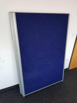 Trennwand blau gebraucht gebrauchte Büromöbel