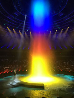 Le Reve The Dream Show Las Vegas Wynn Casino Theater Blog Entertainment Tipp Beste Show