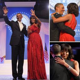 Barack et Michelle Obama, janvier 2013.