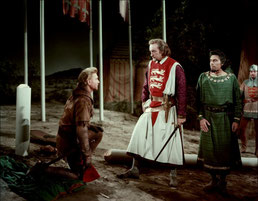 Film : King Richard and the Crusaders (1954). Temple de paris