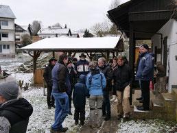 Treffen mit den Niederbieler Vereinskollegen (Foto: NABU-Oberbiel)