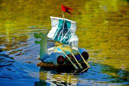 Foto: Annelie Röhm Wir bauen ein Wickingerboot