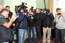 Medienrummel bei den Borkum Open 2011
