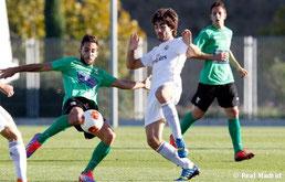 El Real Madrid C perdió ante el Leganés en su último compromiso casero. Foto: www.realmadrid.com