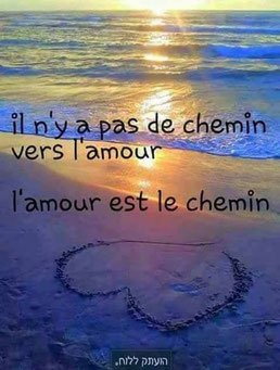 Amour inconditionnel / Chemin vers l'amour / S'aimer soi m'Aime