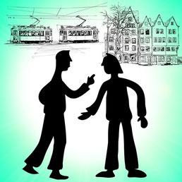 Streit mit dem Nachbarn Rechtsschutzversicherung