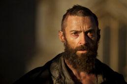 Hugh Jackman est Jean Valjean (©UPI)