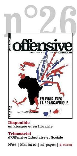 Trimestriel d'Offensive libertaire et sociale - mars 2010, 52 pages, 5 €