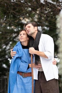 Josef und Maria - Johannes Konrad und Sylvia Rohr