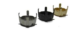 Kesselkette Fassung für Chaton Stein Swarovski Preciosa DIY Material für Stirnriemen und Halsband Rohlinge zum selber machen