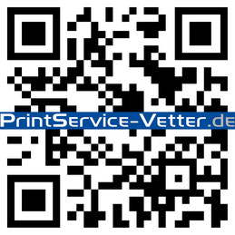 QR-Code Marketing, QR-Code Druck