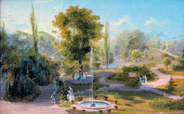 der Schlosspark damals...