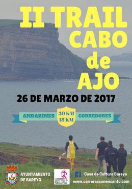 II TRAIL CABO DE AJO - Ajo (Cantabria), 26-03-2017