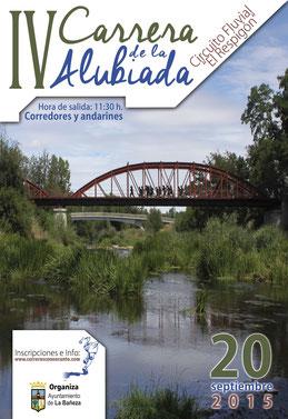 IV CARRERA LA ALUBIADA - CIRCUITO FLUVIAL EL RESPIGON - La Bañeza, 20-09-2015