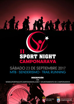 II SPORT NIGHT CAMPONARAYA - Camponaraya, 23-09-2017