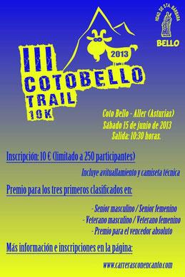 COTO BELLO TRAIL